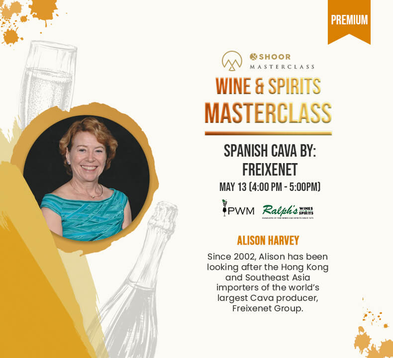 Alison Harvey for Wine and Spirits Masterclass about Spanish Cava by Freixenet
