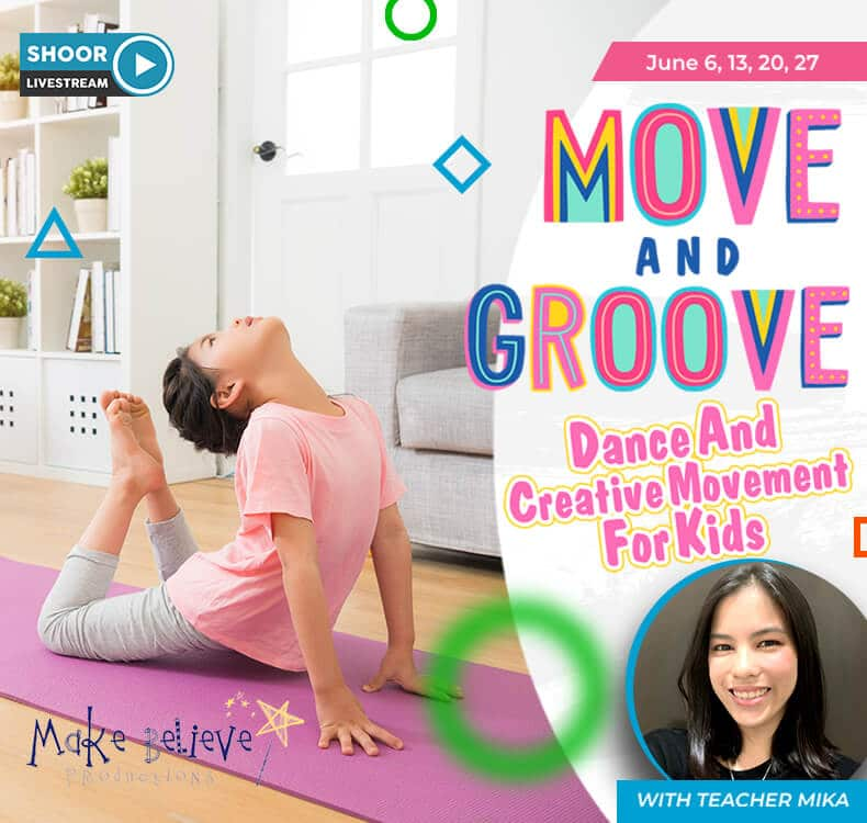 Move and Groove Dance and Creative Movement for Kids Virtual Dance Class with Teacher Mika