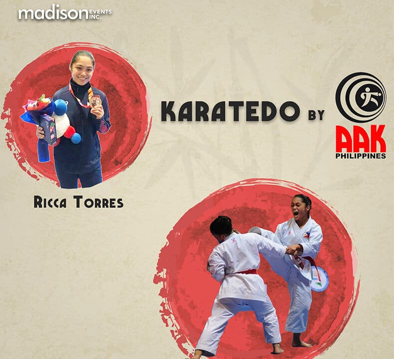 Rica Torres for Online Kids Karatedo by AAK Philippines and Madison Events Inc