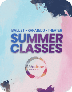 Ballet Karatedo Theater Summer Online Classes by Madison Events Inc