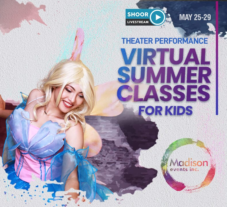 Virtual Summer Classes a Theater Performance Class for Kids by Madison Events
