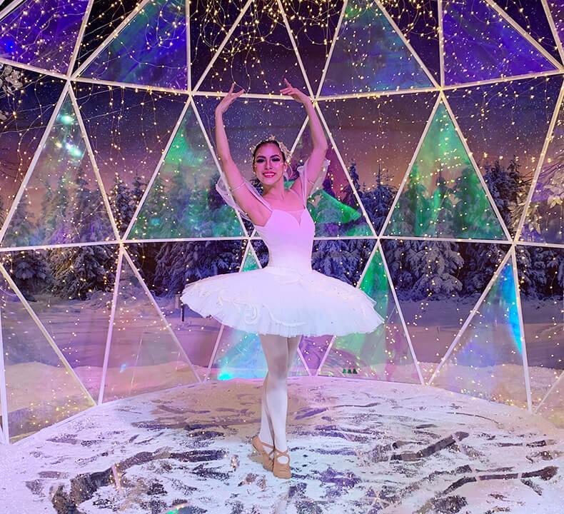 A professional ballet dancer