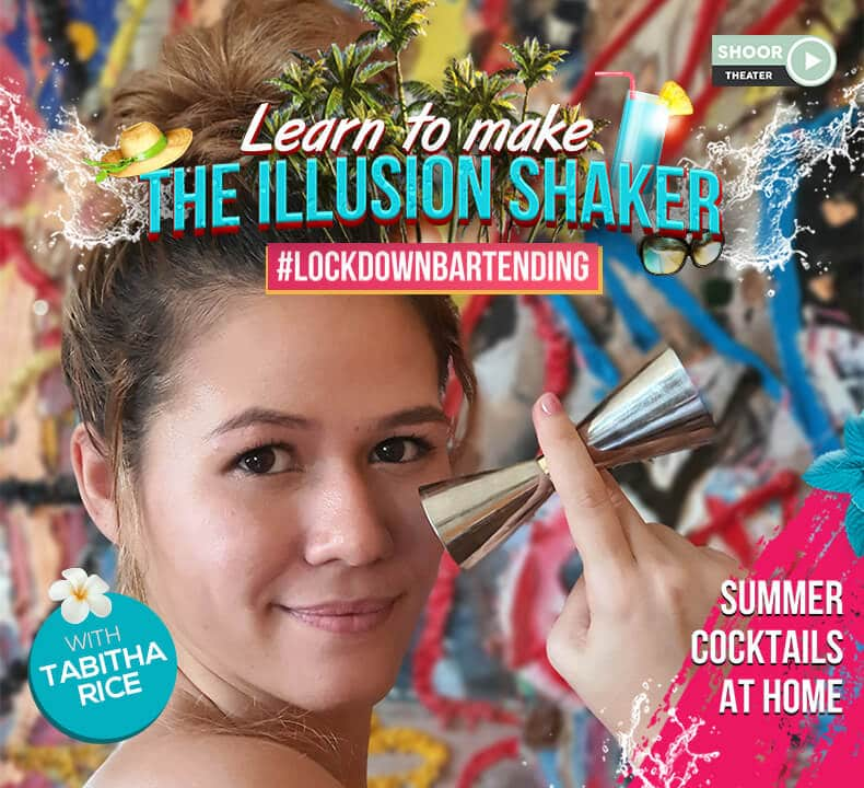 Lockdown Bartending Online Workshop to Learn the Illusion Shaker with Tabitha Rice