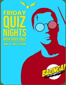 Friday Quiz Nights with Jiggy Cruz