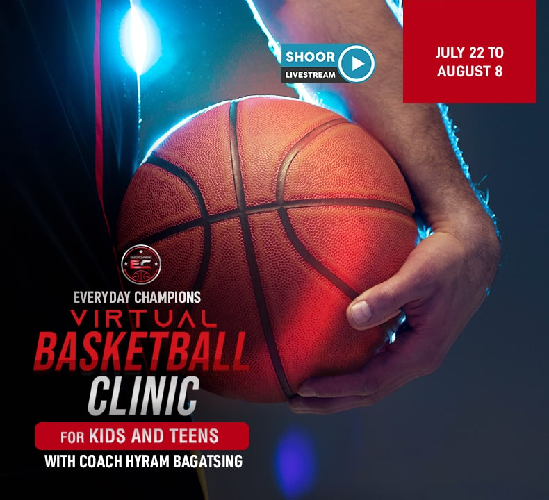 Virtual Basketball Clinic for Kids and Teens with Coach Hyram Bagatsing