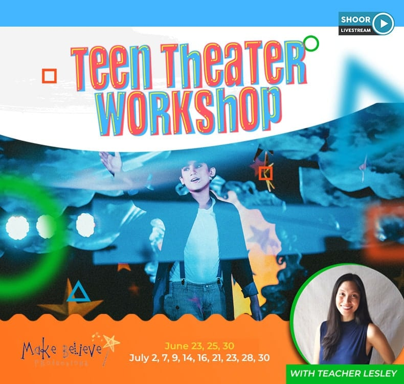 Make Believe Stagelight Teens for Teen Theater Workshop with Teacher Lesley