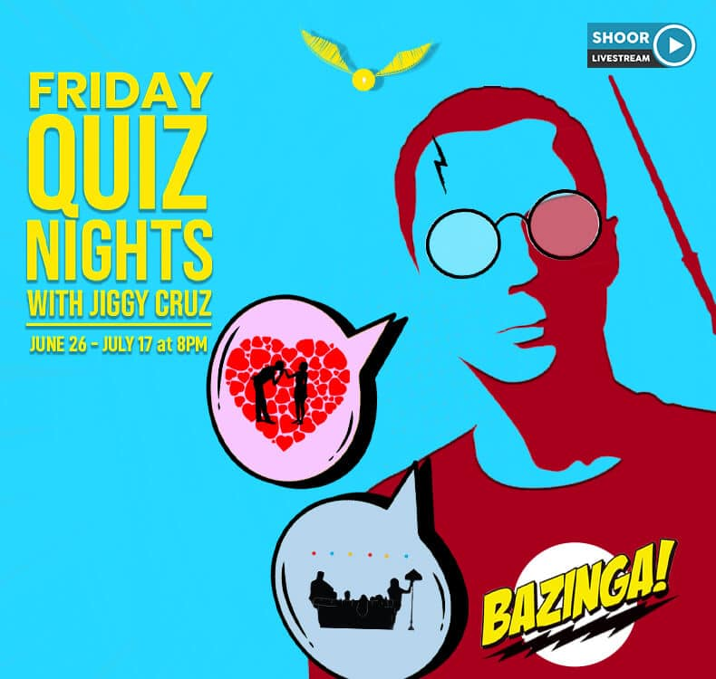 Friday Quiz Nights with Jiggy Cruz for Shoor Online Quiz Games