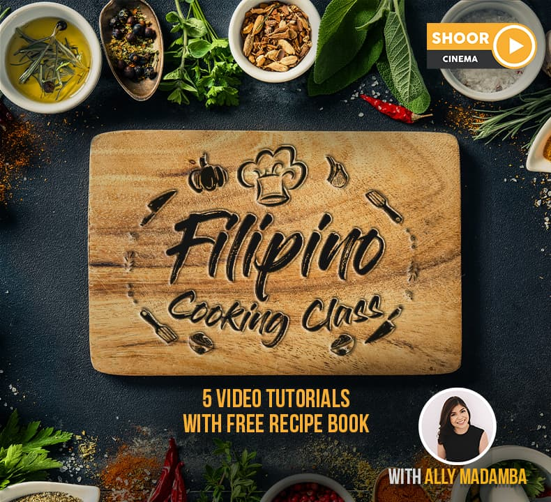 Filipino Cooking Classes: 5 Video Tutorials with Free Recipe Book