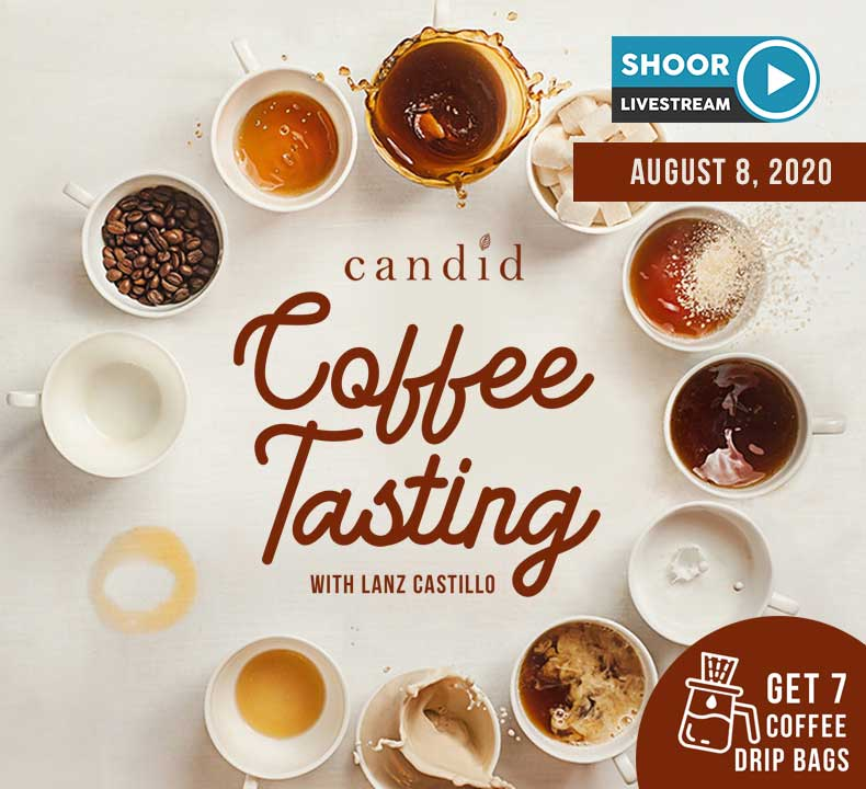 Experience Candid Coffee Tasting with Lanz Castillo