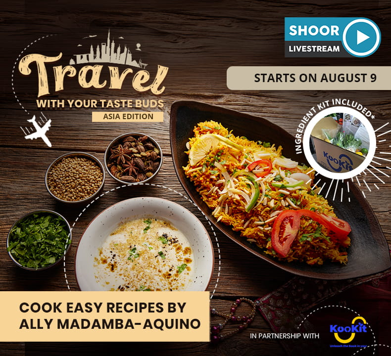 Cook Easy Recipes by Ally Madamba-Aquino on Travel with Your Taste Buds: Asia Edition in Partnership with KooKit