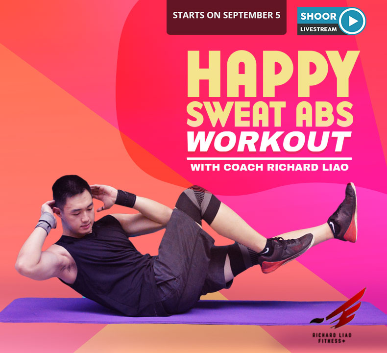 Happy Sweat Abs Workout with Coach Richard Liao