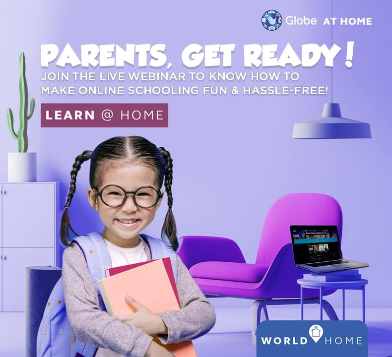 Learn @ Home with Globe at Home: Parents' Essentials for Today's Online School Season