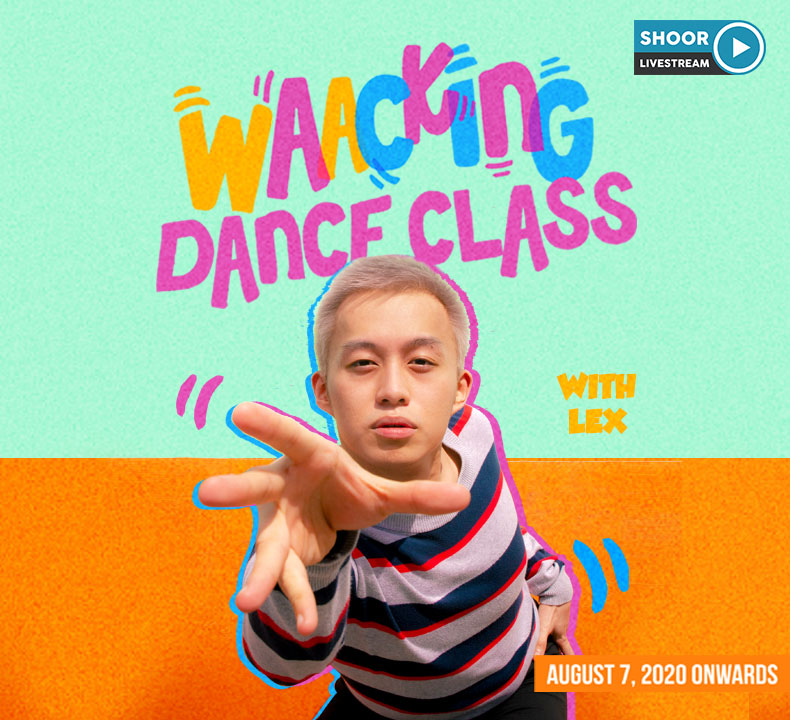 Online Waacking Dance Class with Lex