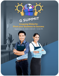 G Summit: Usapang Diskarte: Pivot Your Business to Success