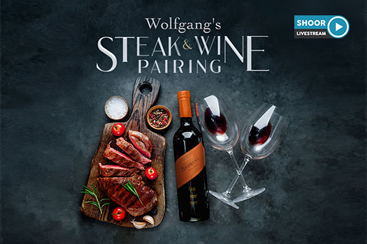 Wolfgang's Steak and Wine Pairing Event