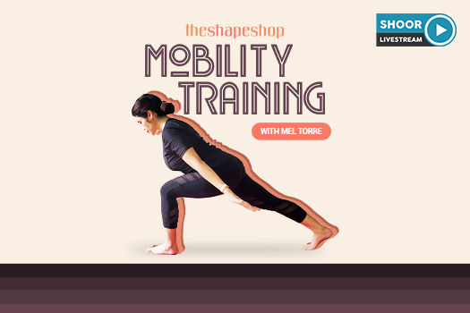 TheShapeShop Mobility Training with Mel Torre