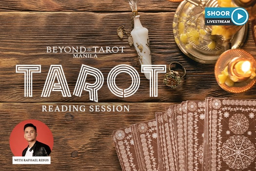 Tarot reading session with Raphael Resus