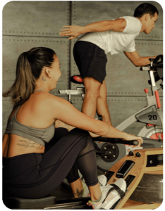 Professional fitness instructors from Saddle Row