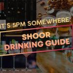 SHOOR Alcohol Drink Guide