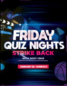 Friday Quiz Nights Strike Back