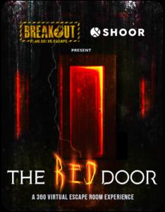 Breakout X SHOOR The Red Door: A 360 Virtual Escape Room Experience
