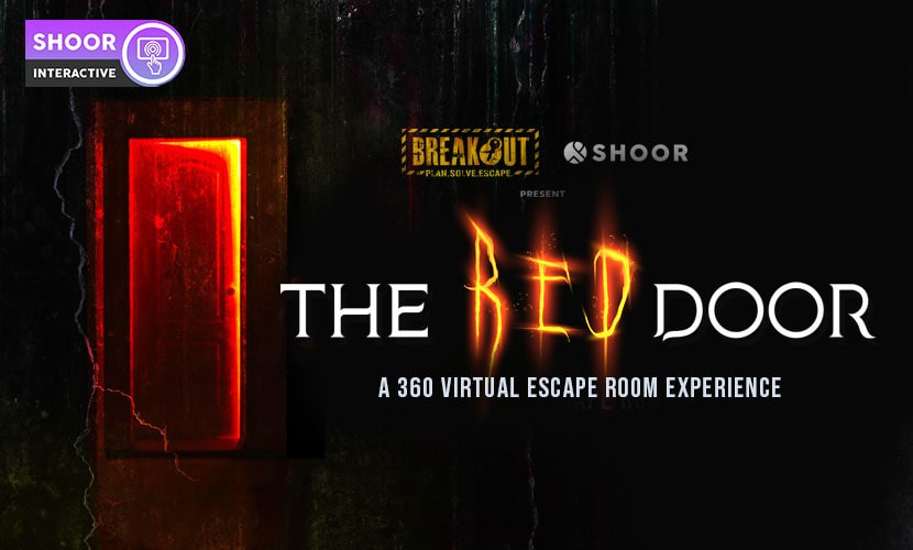 Breakout's The Red Door: A 360 Virtual Escape Room Experience