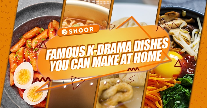 8 Korean Dishes From K-Dramas You Can Make At Home | SHOOR