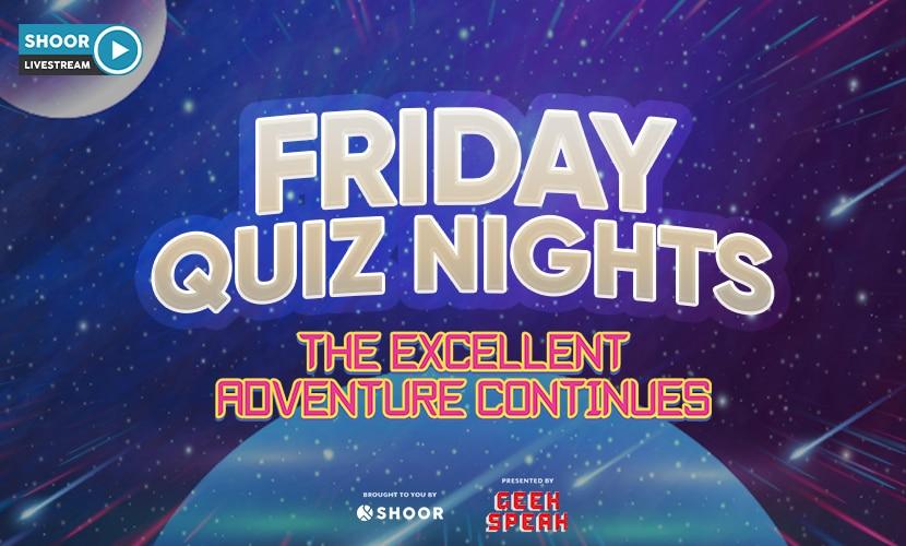 Friday Quiz Nights at SHOOR