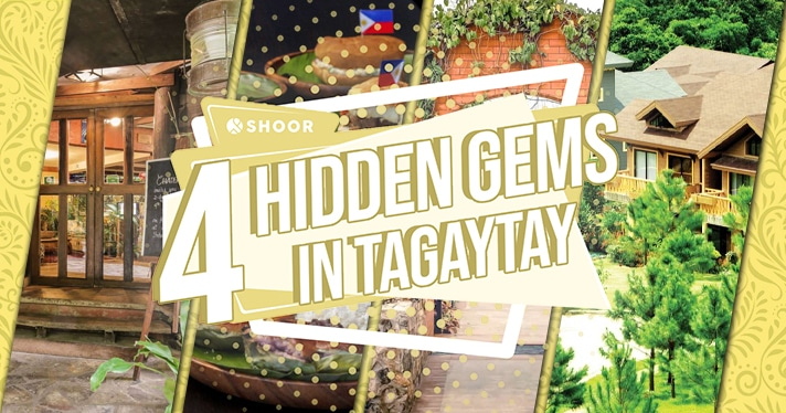 4 Secret Places in Tagaytay