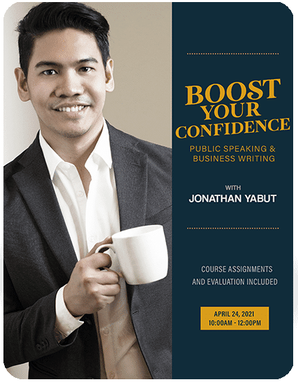 Boost Your Confidence with Jonathan Yabut