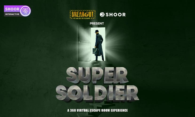 Breakout and SHOOR Present Super Soldier: A 360 Virtual Escape Room Experience