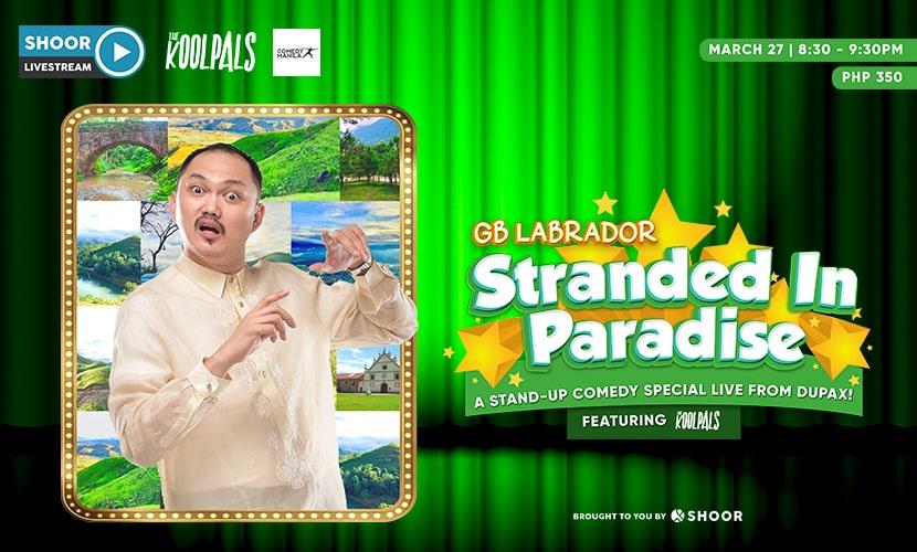 GB Labrador Stranded in Paradise