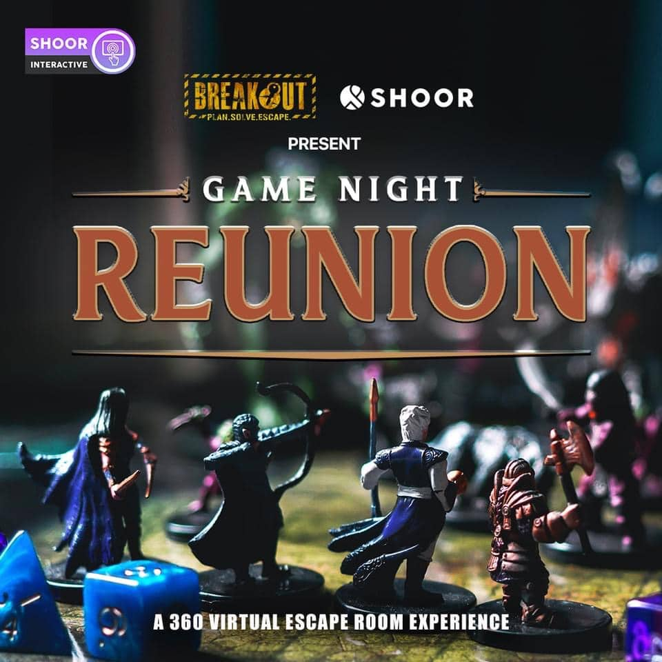 Best Virtual Escape Rooms: Breakout: Game Night: The Reunion