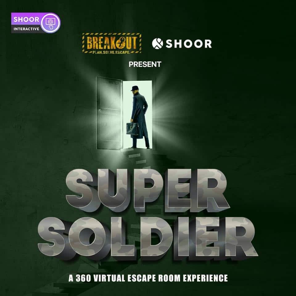 Best Virtual Escape Rooms: Breakout: Super Soldier