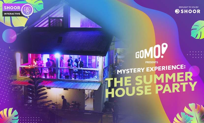 The Summer House Party Mystery Experience