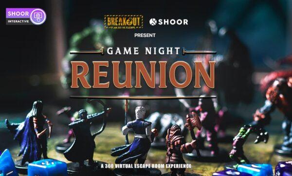 game night reunion horror escape room virtual