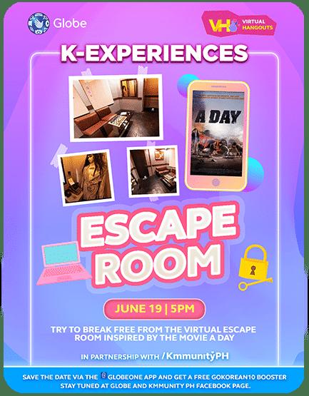 Virtual Hangouts: A Day Escape Room