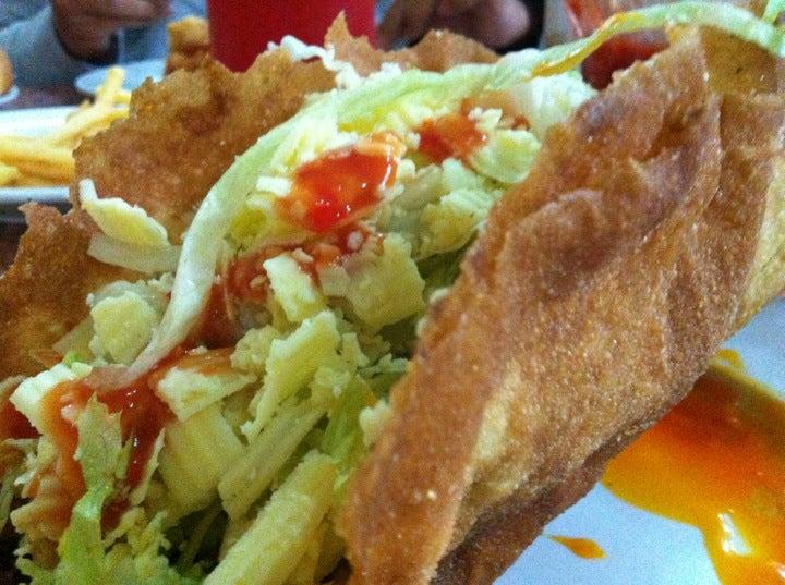 Large taco