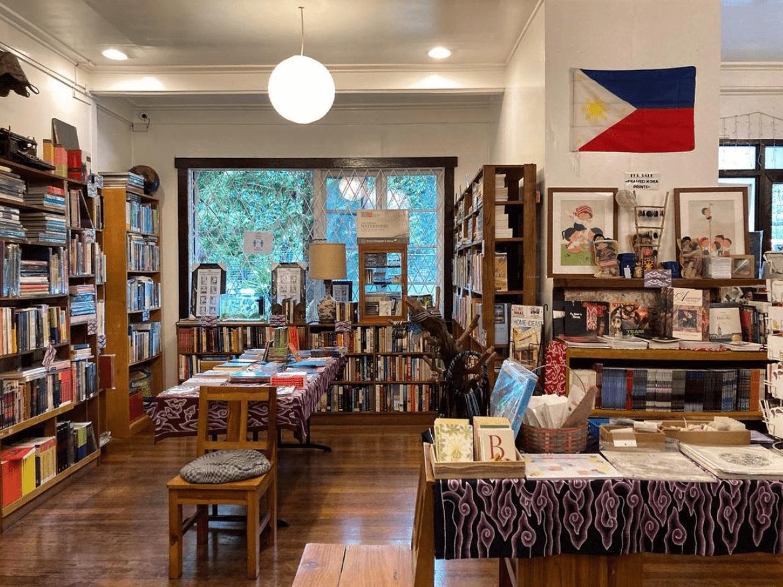 Mt. Cloud Bookshop in Baguio City