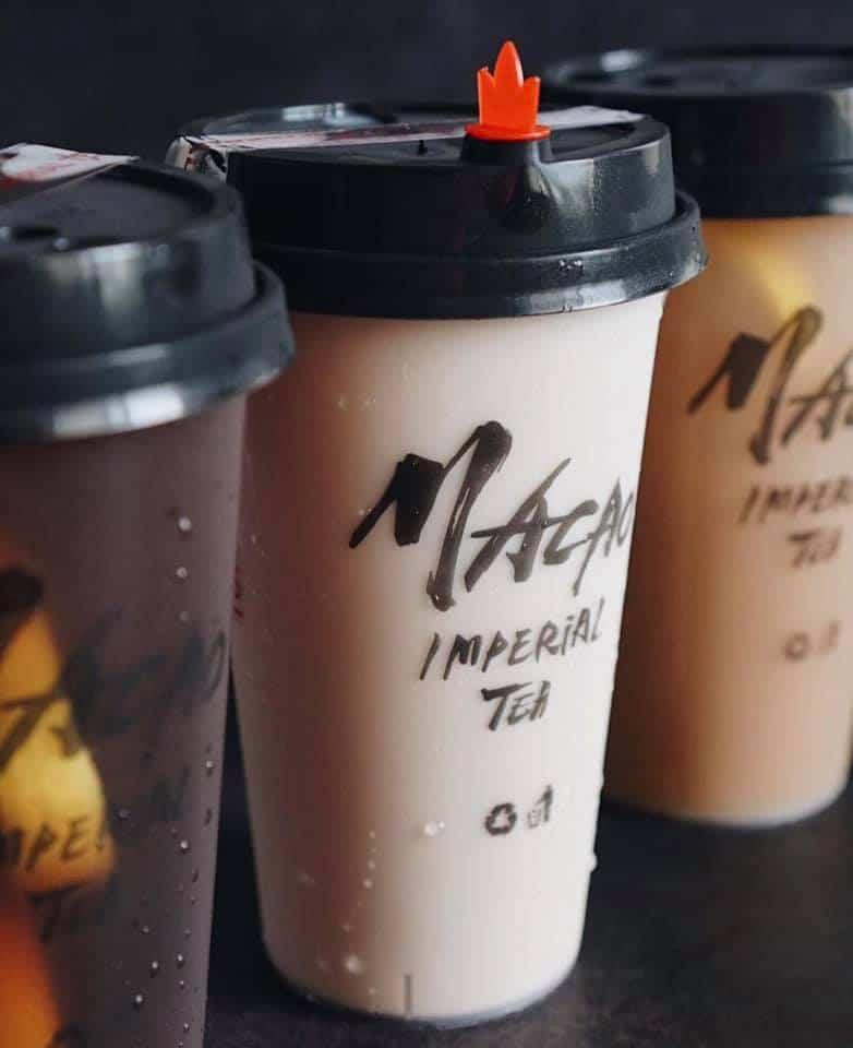 Macao Imperial Tea drinks