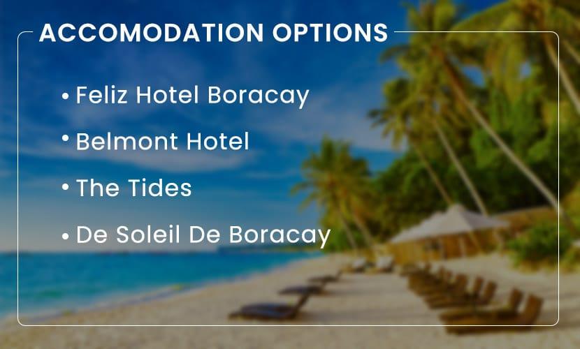 Experience Boracay-Accomodation-Options