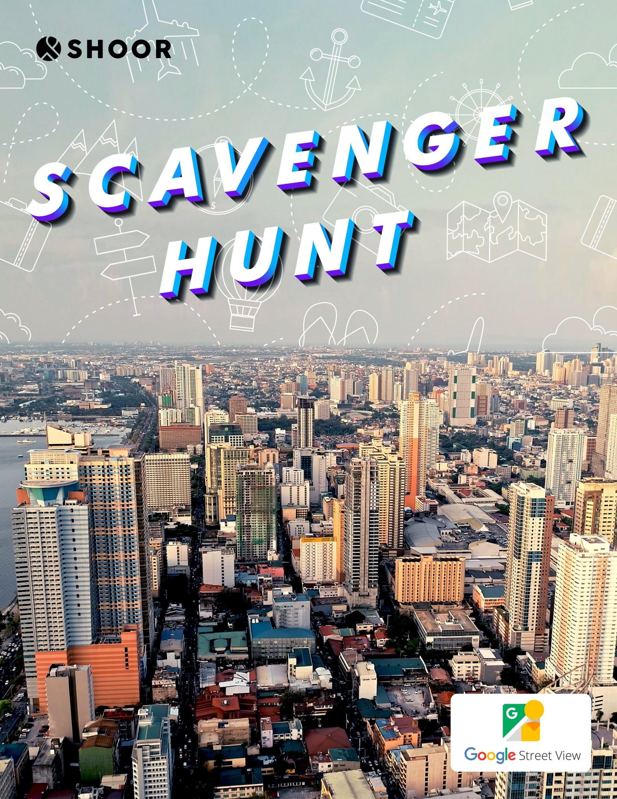 Scavenger Hunt: virtual team building activity