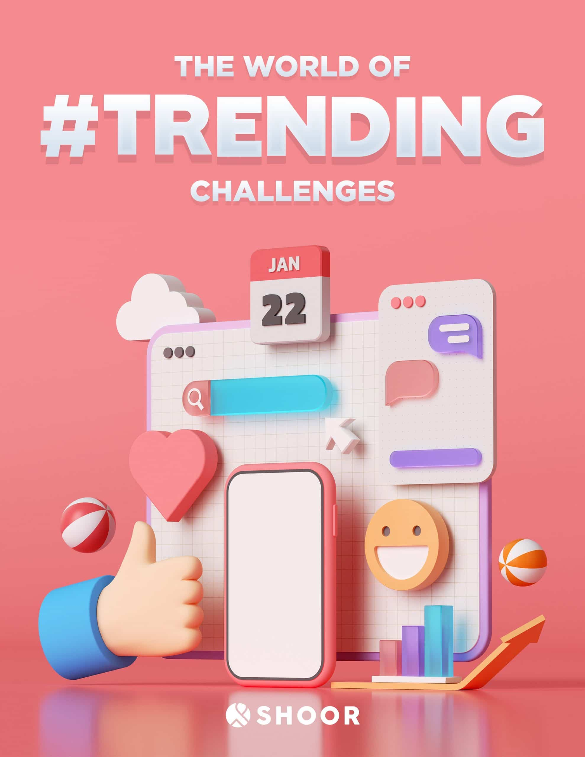 The World of Trending Challenges - virtual team building