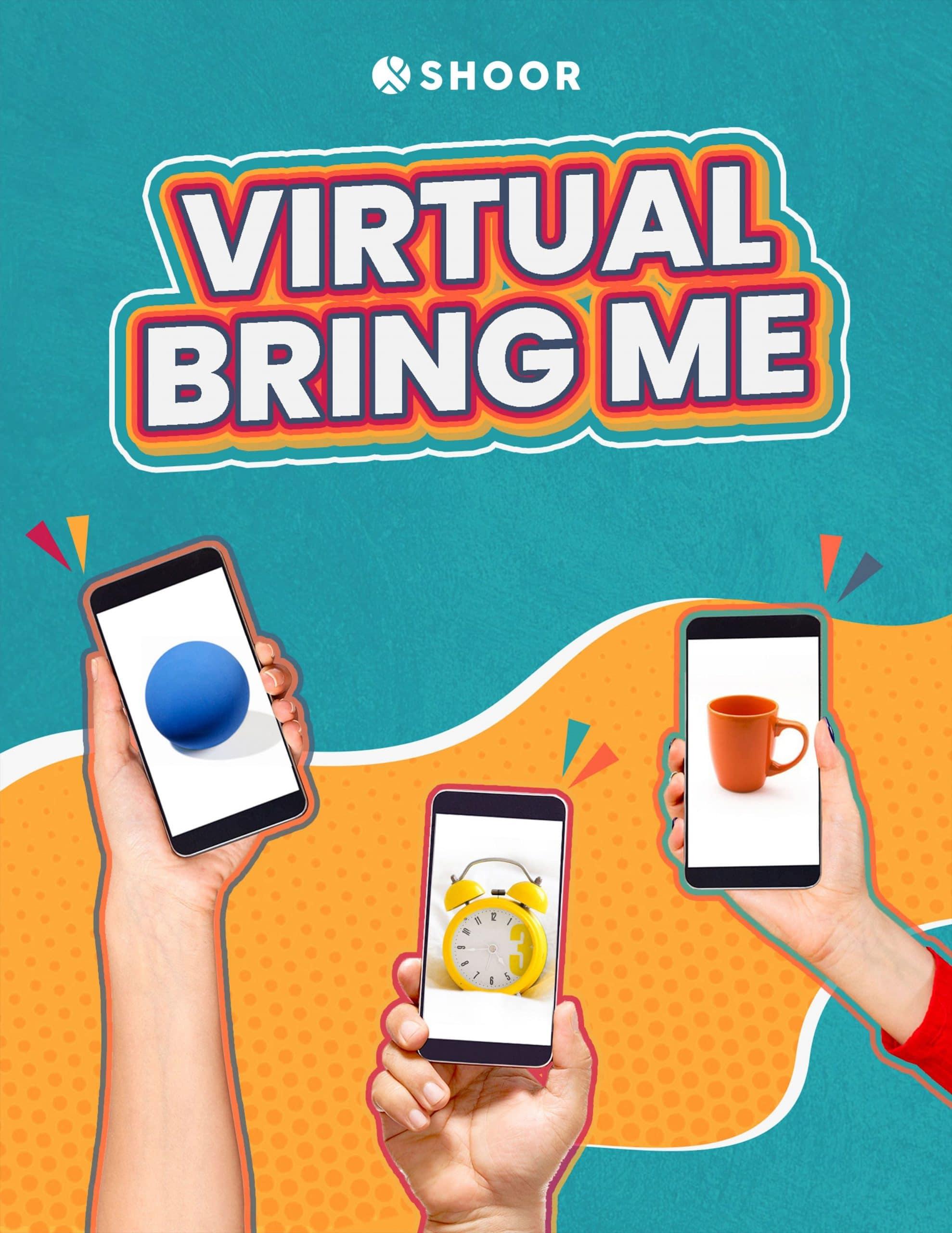Virtual Bring Me - an online team building activity