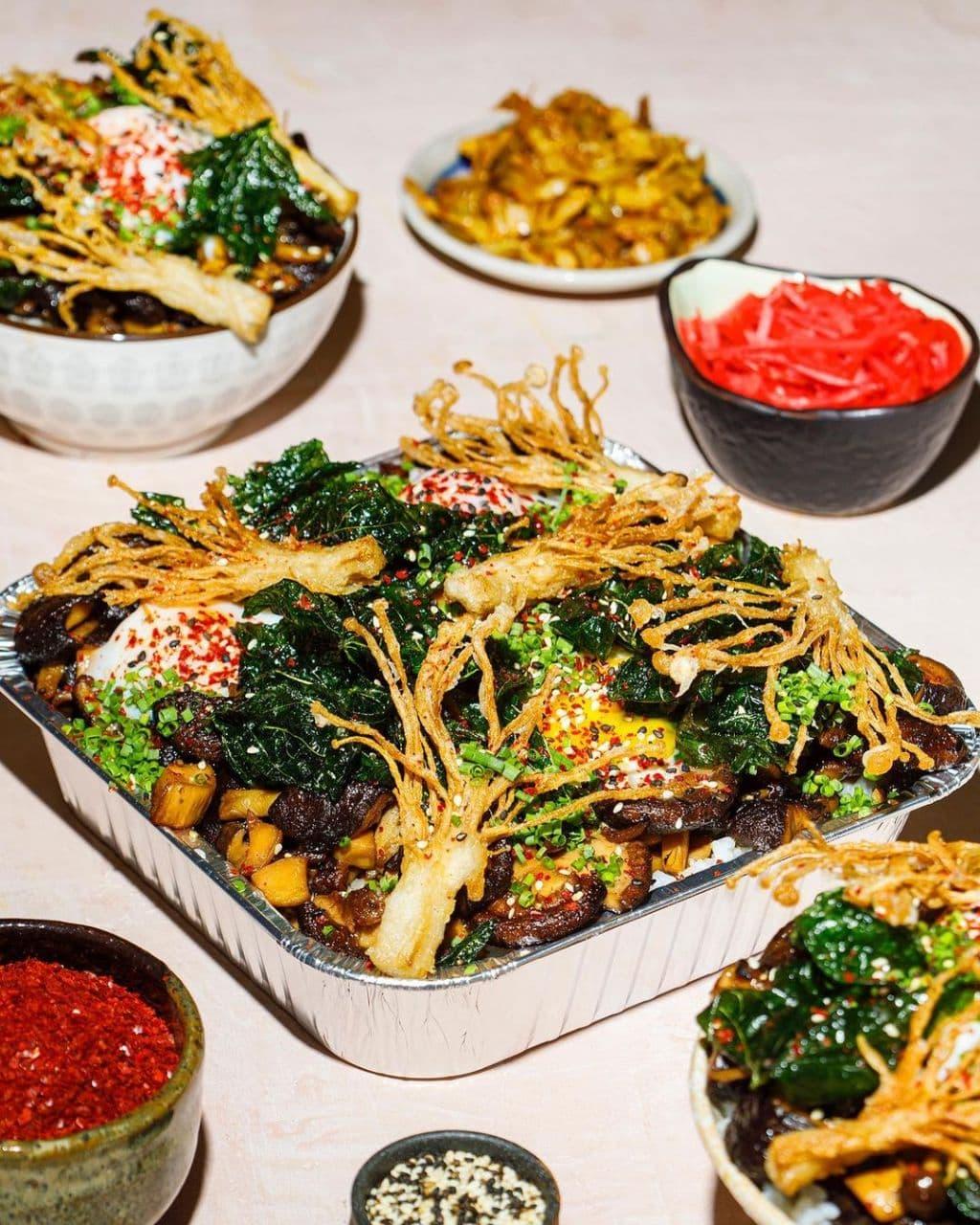 gyudon rice tray