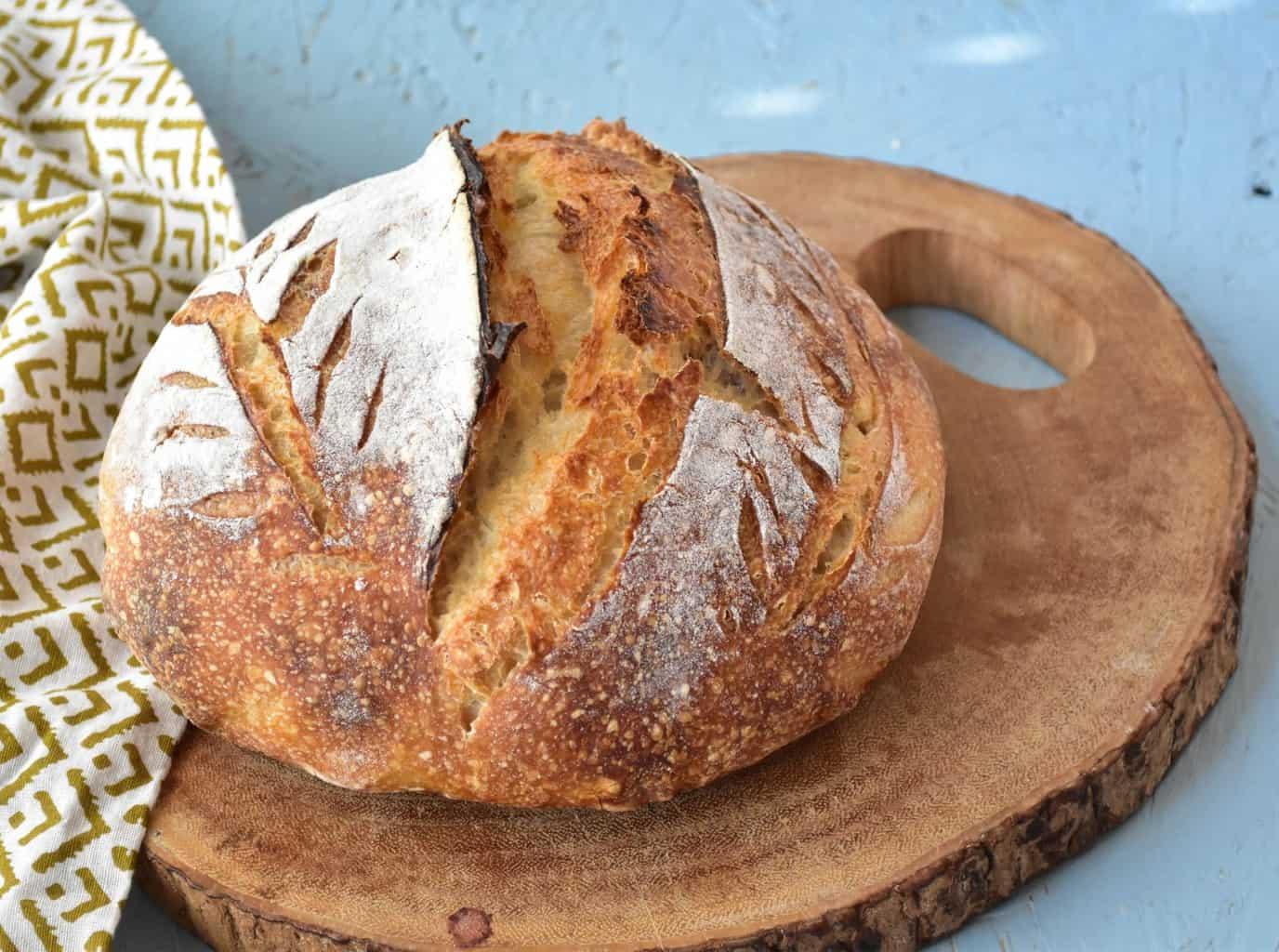 sourdough bread loaf